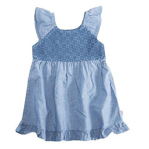 Baby Girl Levi's® Lace Ruffle Dress