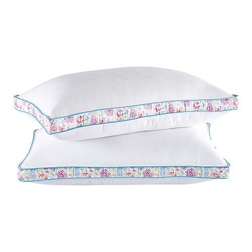 Collier Campbell 2-pack Back & Side Sleeper Gusseted Pillow