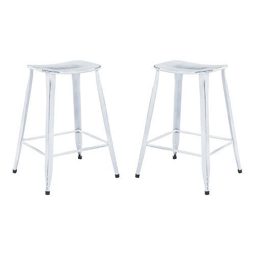 Office Star Products Durham 2 Pack Counter Stools