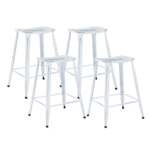 Office Star Products Durham 4 Pack Counter Stools