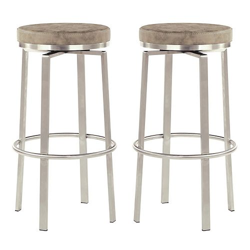 Office Star Products Katy 2-pack Counter Swivel Stool