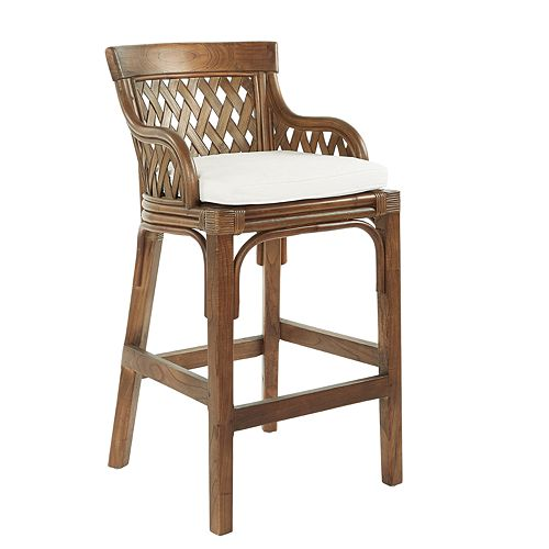 Office Star Products Plantation Bar Stool
