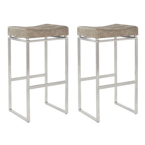 Office Star Products Sherese 2-Pack Counter Stool