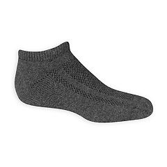 Boys 8-20 Fruit of the Loom 6-Pack Breathable No Show Socks