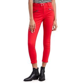 NEW! Women's Levi's® 721 Moto Midrise Skinny Ankle Jeans