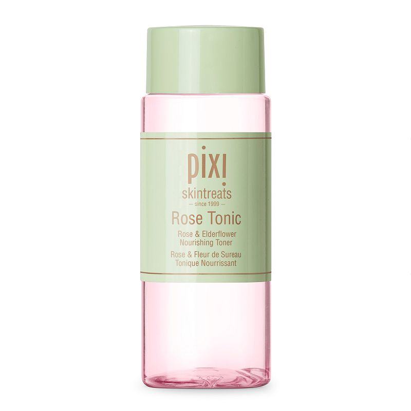 Naturally soothing and rich in nutrients, this Pixi Skintreats Rose Tonic helps to tone, balance pH, minimize redness and calm skin. Rehydrates, replenishes and refreshes Ideal for all skin types 3.4 fl. oz. Phthalate free Sulfate free Cruelty free Latex free Alcohol free Size: One Size. Color: Multicolor. Gender: female. Age Group: adult.