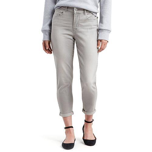 Women's Levi's® Classic Crop Midrise Roll-Hem Jeans