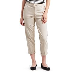 NEW! Women's Levi's® Classic High-Waisted Chino Crop Pants
