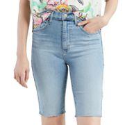 Women's Levi's® Mile High High-Waisted Jean Bike Shorts