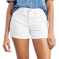 NEW! Women's Levi's® Mid-Length Midrise Jean Shorts