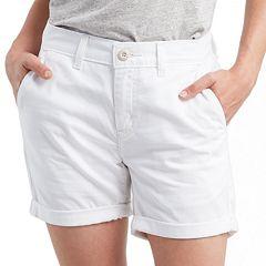 Women's Levi's® Classic Chino Roll-Hem Shorts