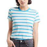 NEW! Women's Levi's® The Perfect Crew Striped Tee