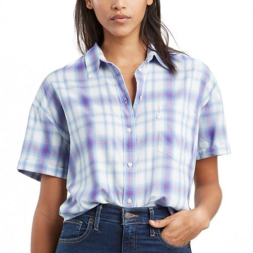 Women's Levi's® Lacey Button-Down Twill Shirt