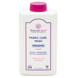 forever new 32 oz. Liquid Lingerie Fabric Care Wash - Unscented