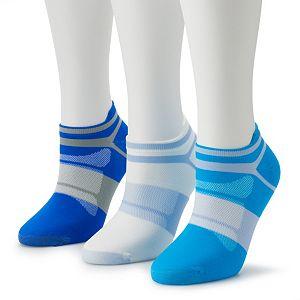 Women's ASICS Quick Lyte 3-pack Low-Cut Socks