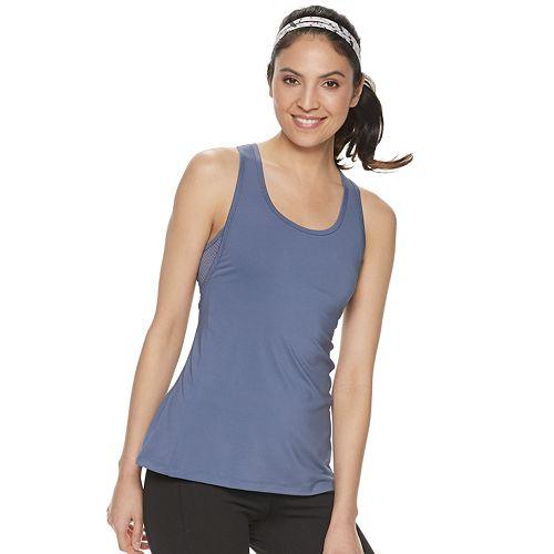 Women's FILA SPORT® Mesh Side Piecing Tank Top