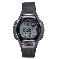 Casio Men's Digital Runner Steptracker & Lap Memory Watch - WS2000H1AVOS