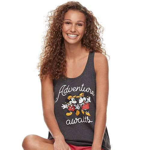 ​Disney's ​Mickey & Minnie Mouse Juniors' Parks Graphic Tank by Family Fun