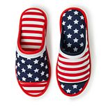 Unisex Dearfoams Americana Open Toe Slippers