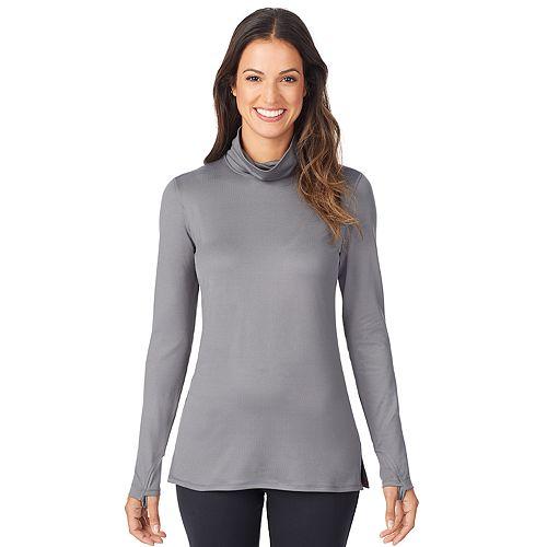 Women's Cuddl Duds Infrared Turtleneck