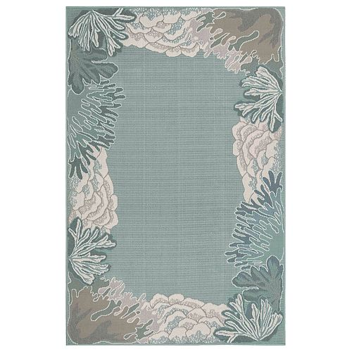 Liora Manne Riviera Reef Border Indoor Outdoor Rug