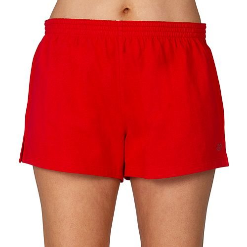 Women's Spalding Roll Down Cheer Shorts