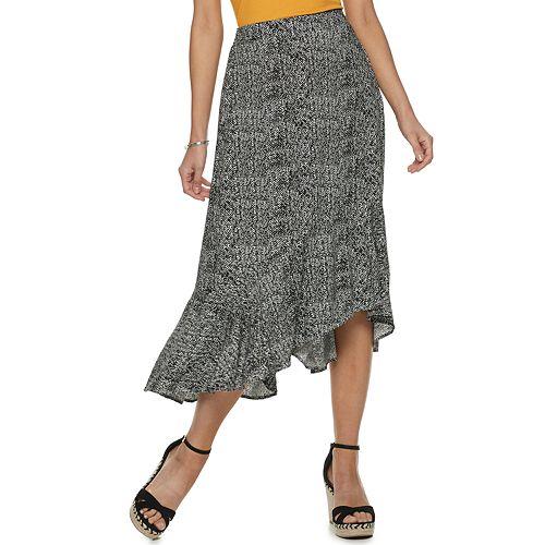 Women's Apt. 9® Maxi Challis Skirt