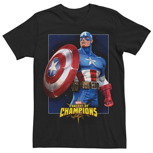 Men's Marvel Captain America Contest of Champions Graphic Tee
