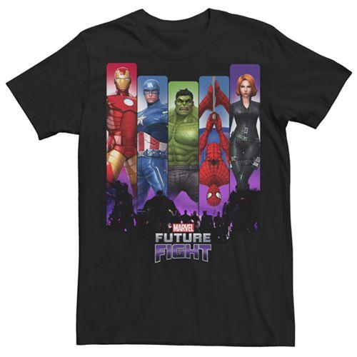Men's Marvel Avengers Future Fight Graphic Tee