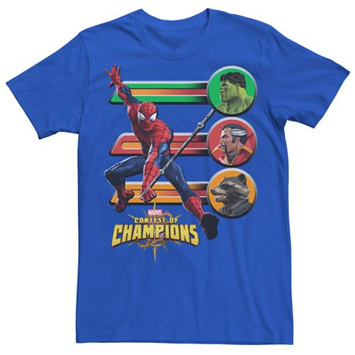 Men's Marvel Contest of Champions Spider-Man Graphic Tee