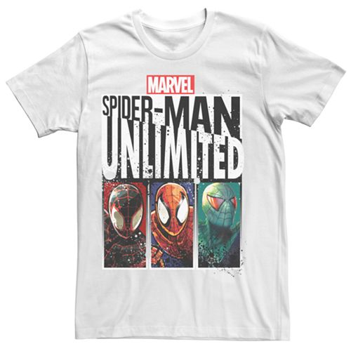 Men's Marvel Spider-Man Unlimited Graphic Tee