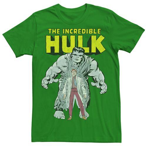 Men's Marvel Retro Hulk Character Tee