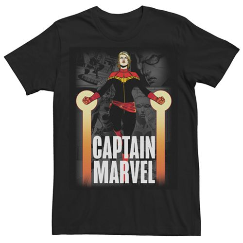 Men's Retro Captain Marvel Tee