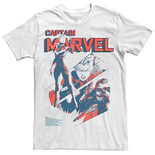 Men's Captain Marvel Retro Tee