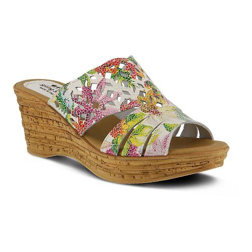 Spring Step Women's Slide Sandals - Viniko