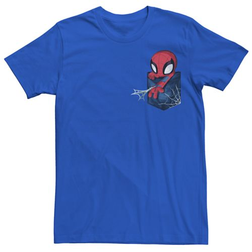 Men's Marvel Spider-Man Pocket Tee