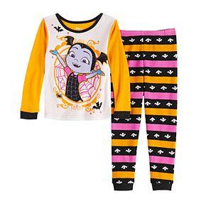 Disney's Vampirina Toddler Girl Top & Bottom Pajama Set