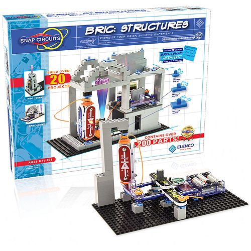 Elenco Snap Circuits BRIC Structures Building Set