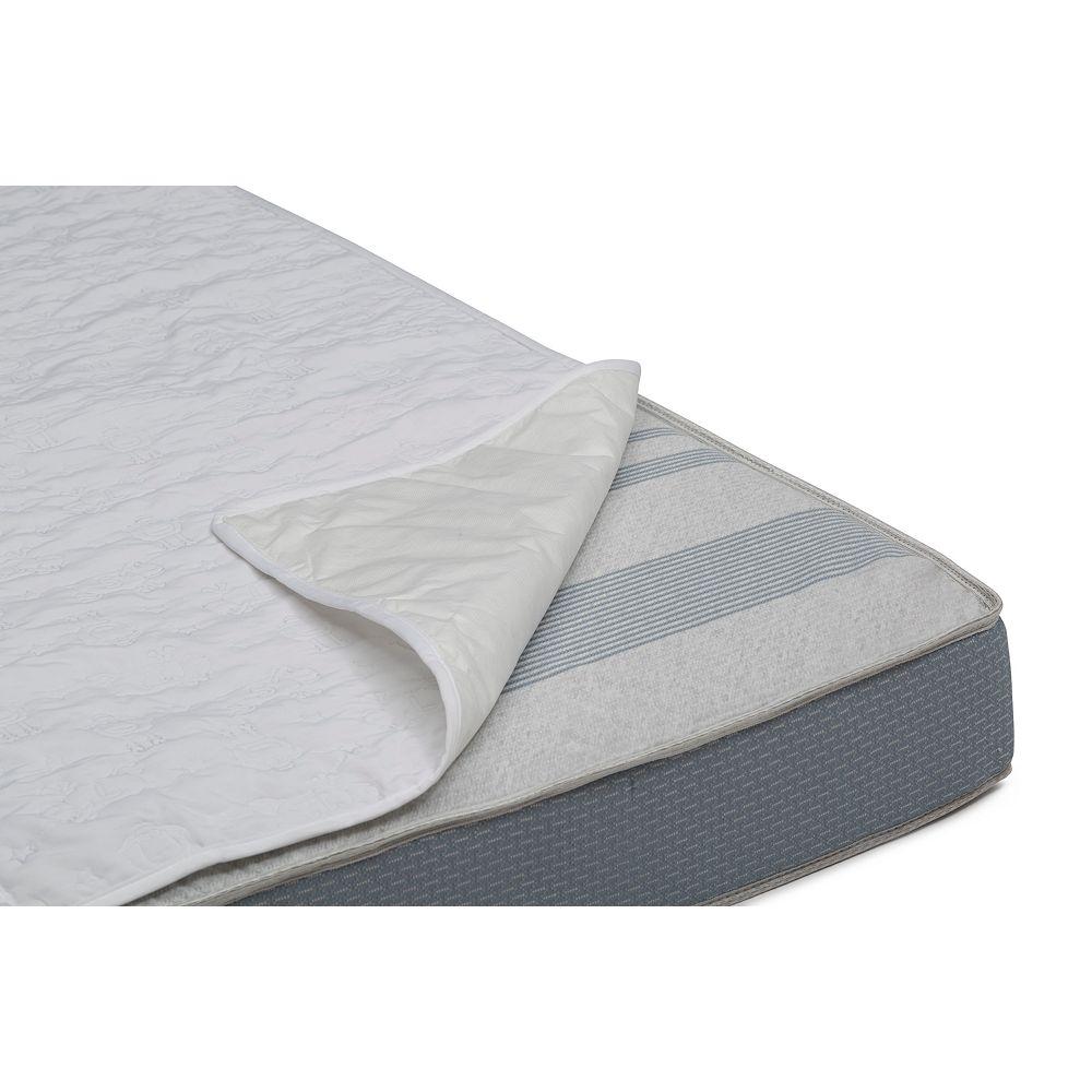 Simmons Kids Serta Sertapedic Crib Mattress Liner Pads (Pack of 2)