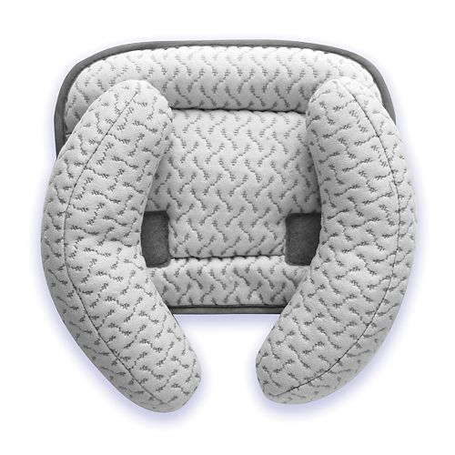 Simmons Kids Serta iComfort Premium Universal Headrest and Neck Support With Cooling Gel Memory Foam for Car Seat, Stroller