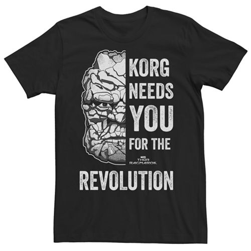 Men's Marvel Thor Ragnarok For the Revolution Graphic Tee
