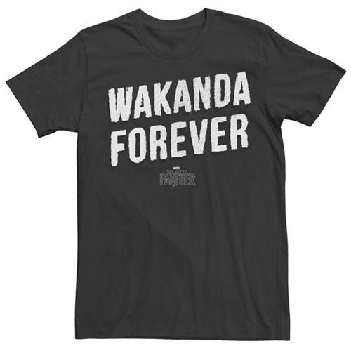 Men's Marvel Black Panther Wakanda Forever Graphic Tee