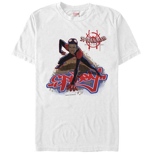 Men's Mervel Spider-Verse Spidey Graphic Tee