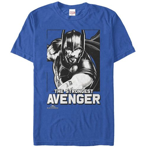 Men's Marvel Avengers Thor Strongest Graphic Tee
