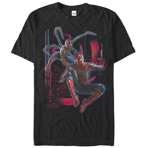 Men's Marvel Avengers Infinity War Iron Spider-Man Suit Graphic Tee