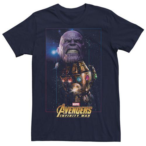 Men's Marvel Avengers Infinity War Thanos Gauntlet Graphic Tee