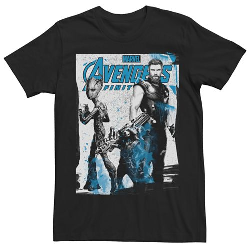 Men's Marvel Avengers Infinity War Strong Three Graphic Tee