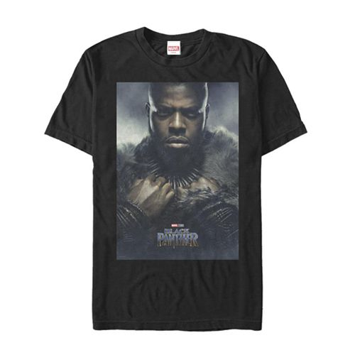 Men's Marvel Black Panther Mbaku Poster Graphic Tee
