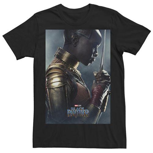 Men's Marvel Black Panther Okoye Poster Graphic Tee