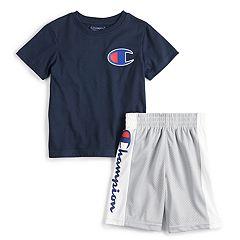 Boys 4-7 Champion® Heritage Patch Tee & Shorts Set